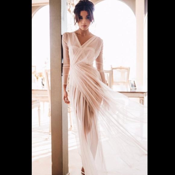 House of CB sheer lex dress